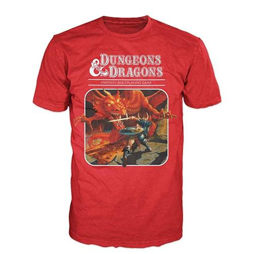 dungeons and dragons classic t-shirt