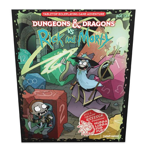 dungeons and dragons rick and morty
