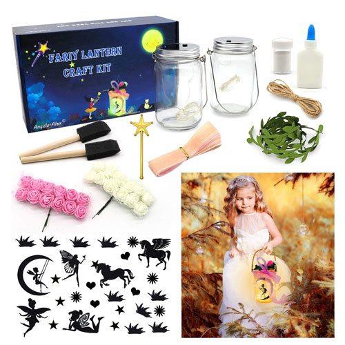 fairy lantern craft kit gift