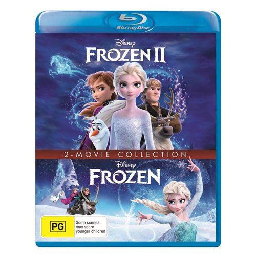 frozen 1 & 2 blu-ray