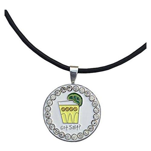 got salt tequila golf necklace