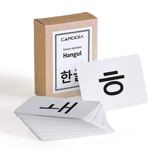 korean alphabet flashcards