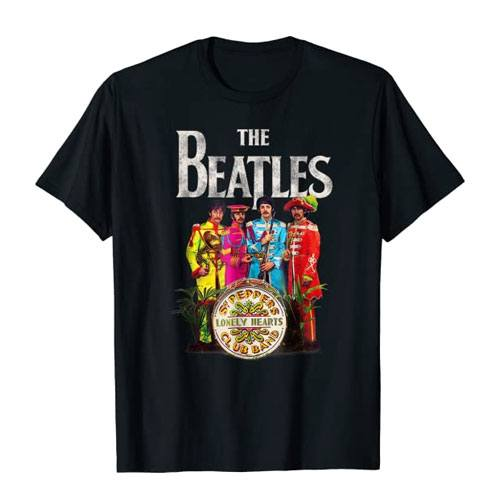 lonely hearts club band t-shirt