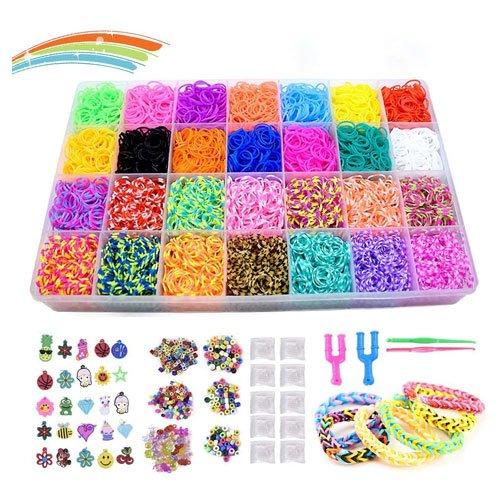 rainbow loom bands bracelet set