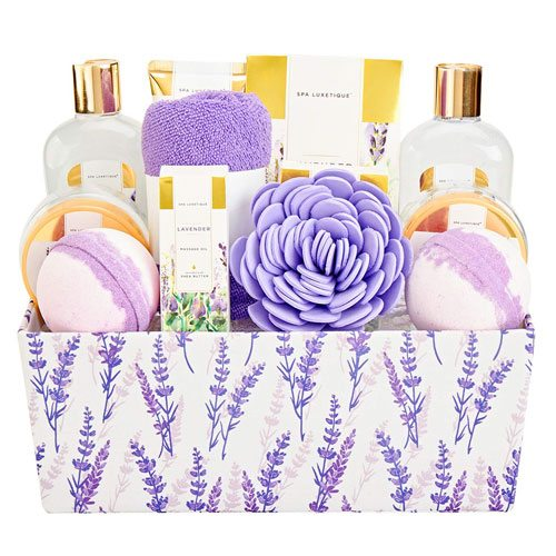 spa gift basket set