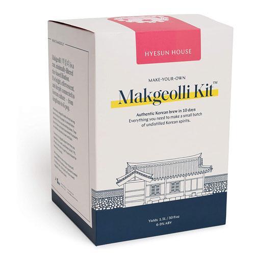makgeolli brew kit