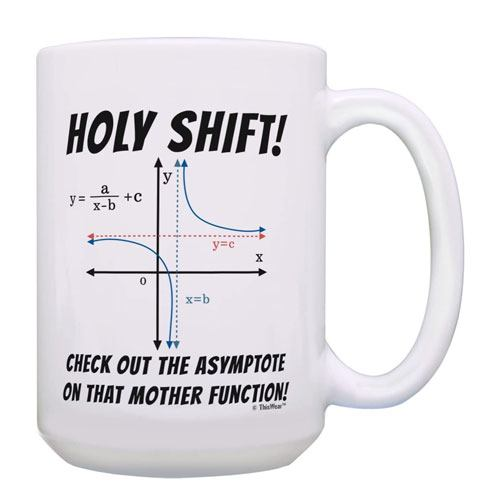 math pun coffee mug