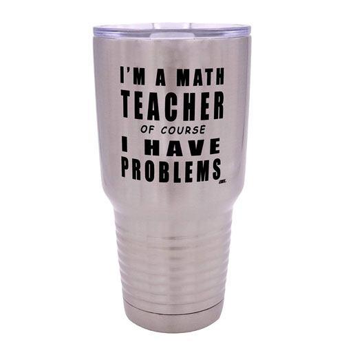 math teacher tumbler gift
