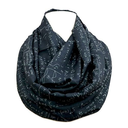 mathematics infinity scarf