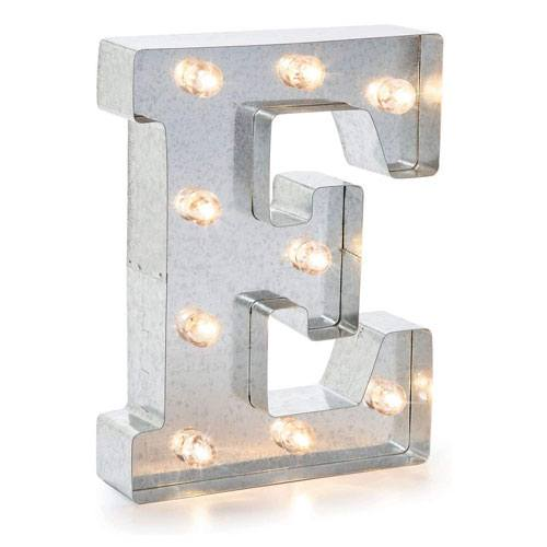 metal marquee letter