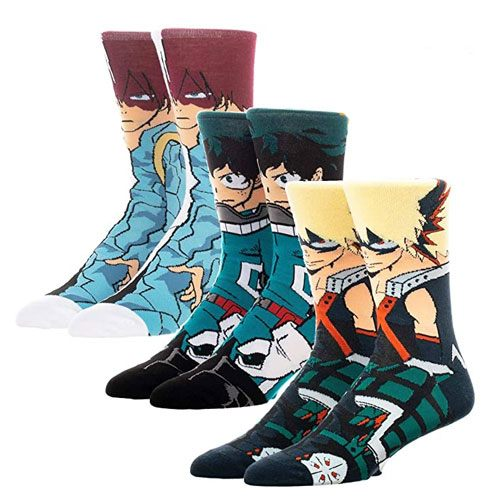 my hero academia socks