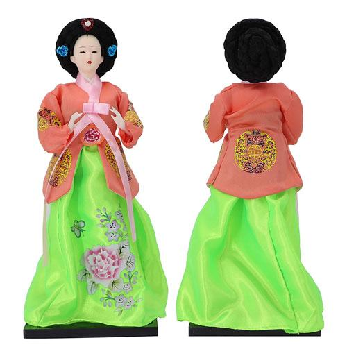 traditional korean gift doll