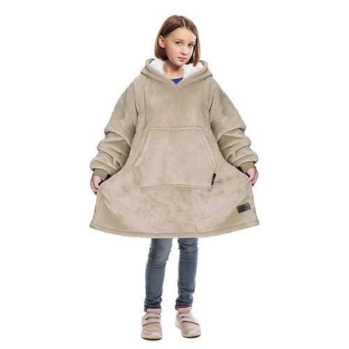 oversized sherpa hoodie