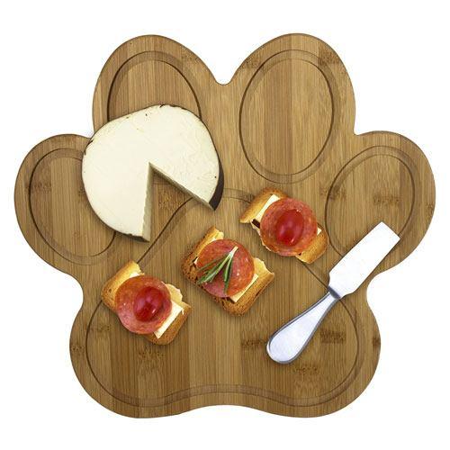 paw shaped cutting board