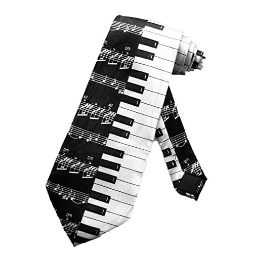 piano key necktie gift