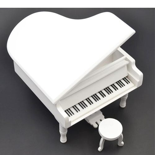 piano model music box