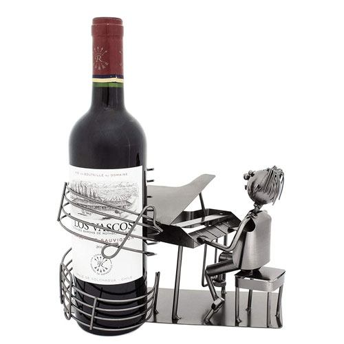 piano wine bottle holder