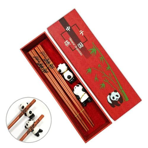 reusable panda chopsticks