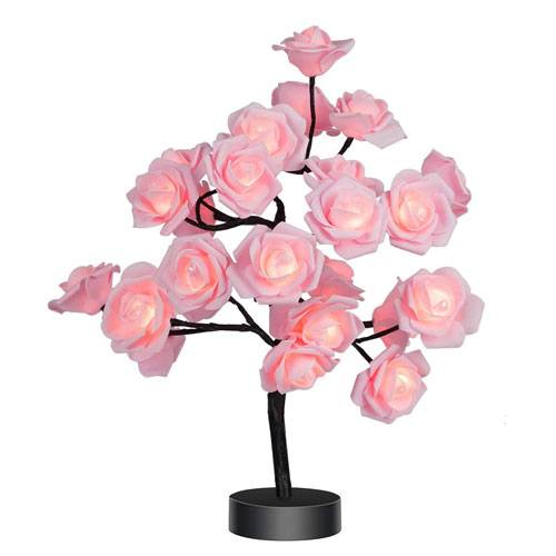 rose flower lamp