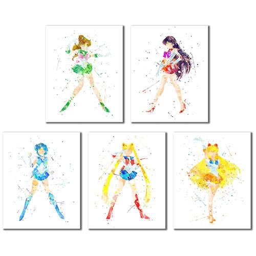 sailor moon art prints