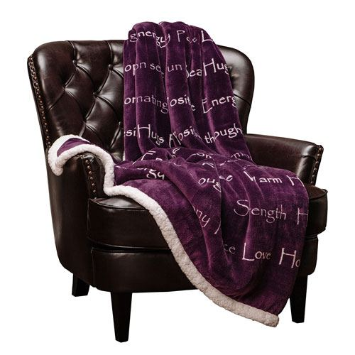 positive energy sherpa blanket