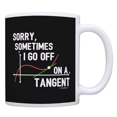 tangent coffee mug gift