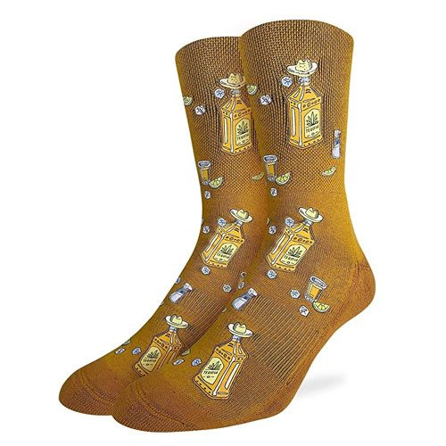 tequila bottles socks