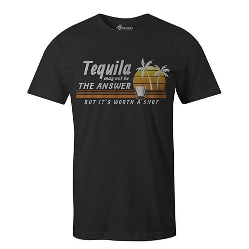 its worth a shot tequila t-shirt