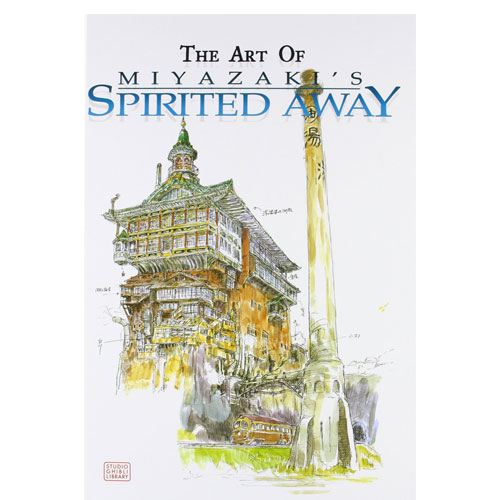 art of spirited away book