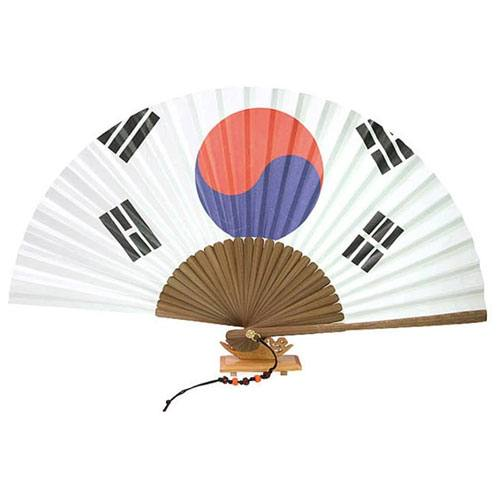 traditional korean hand fan
