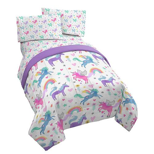 unicorn bed sheets