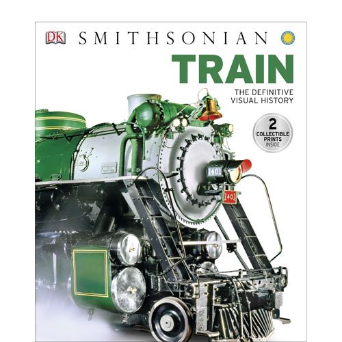 definitive visual history of trains book