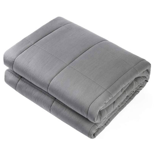 weighted blanket present
