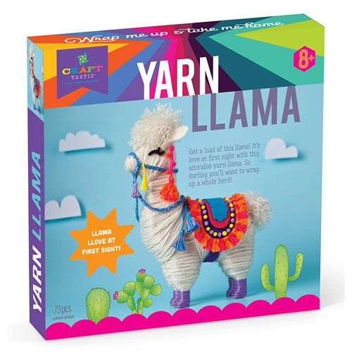 yarn llama craft kit