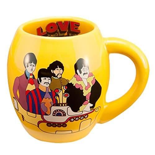 yellow submarine coffee mug