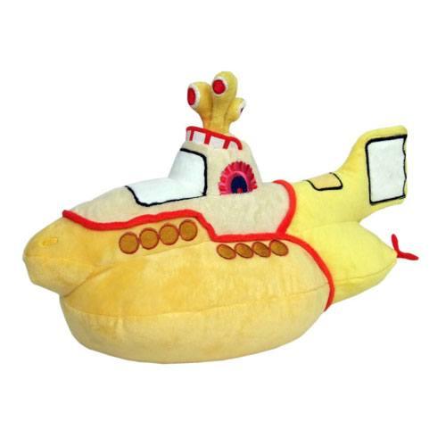 yellow submarine plush gift idea