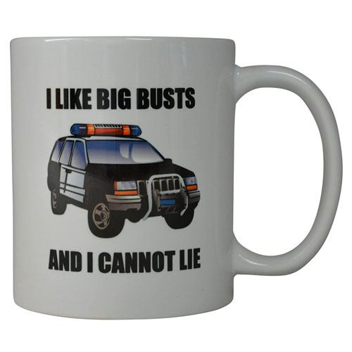 i like big busts coffee mug