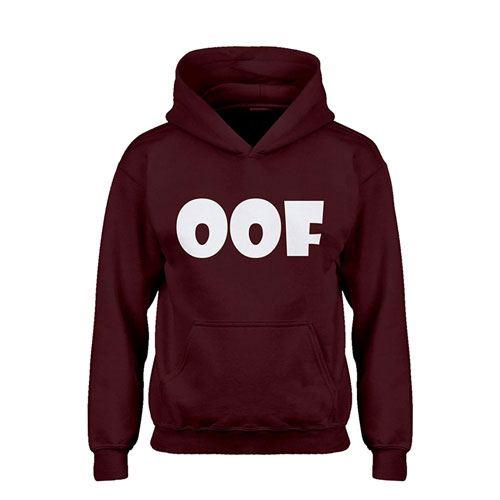 oof kids roblox hoodie apparel