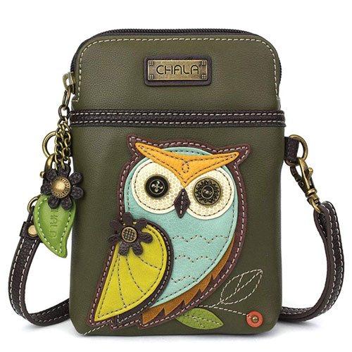 adjustable owl handbag accessory