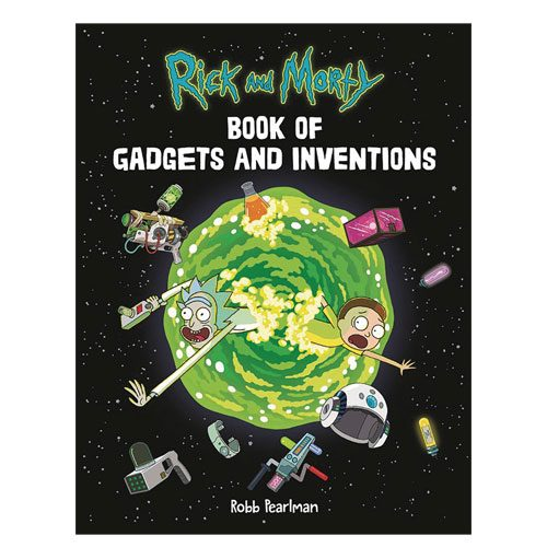 book of gadgets and inventions present