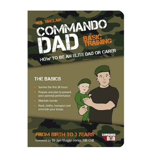 commando dad basic training book