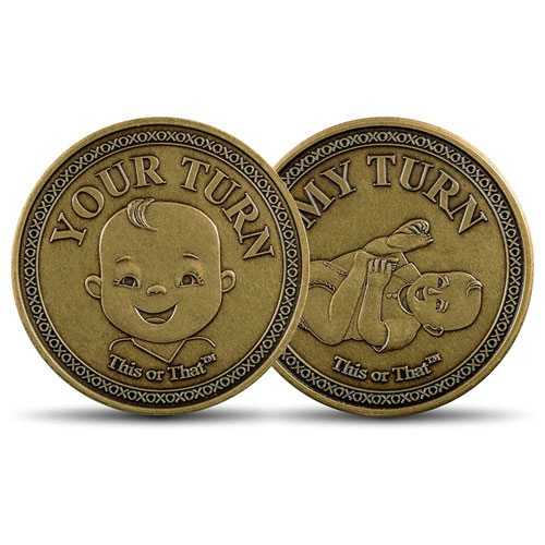 diaper changing decision coin