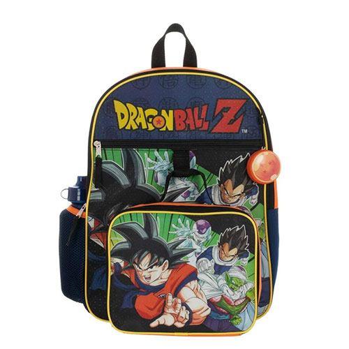 dragon ball school backpack set