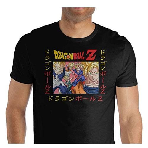 DBZ t-shirt merchandise