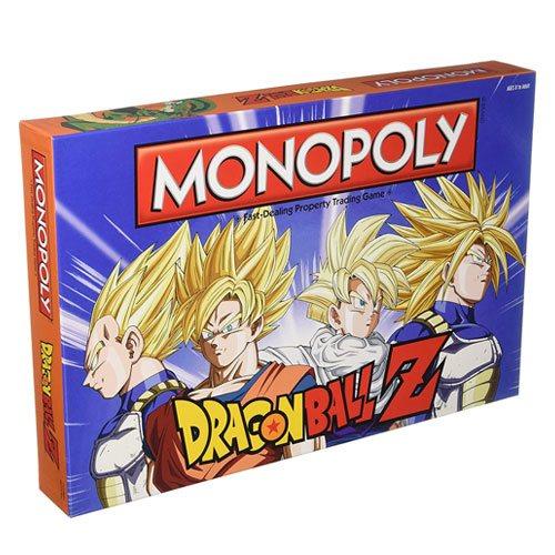 dragon ball z monopoly board game