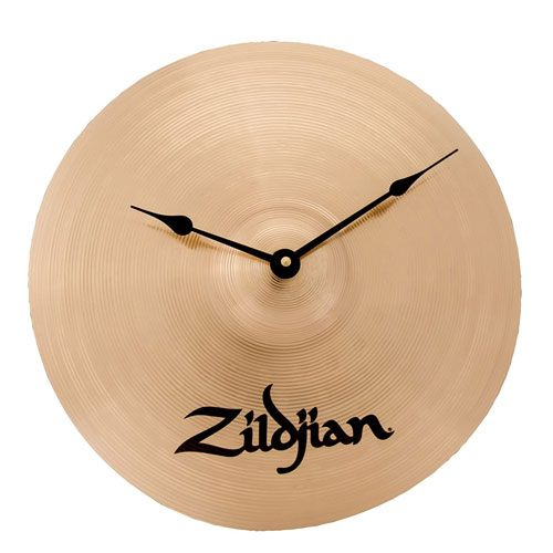 drum cymbal clock