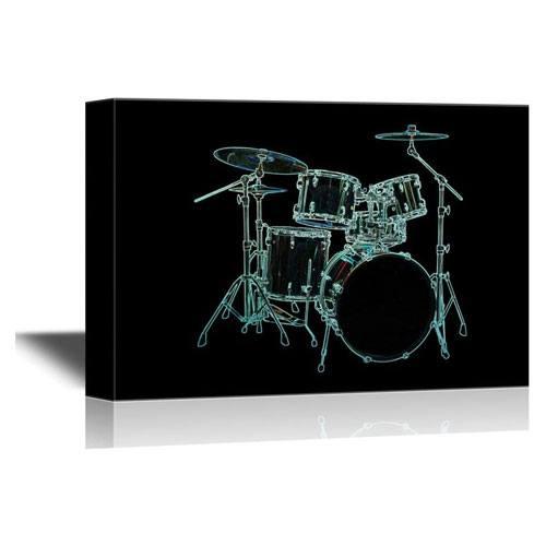 drummer canvas wall art