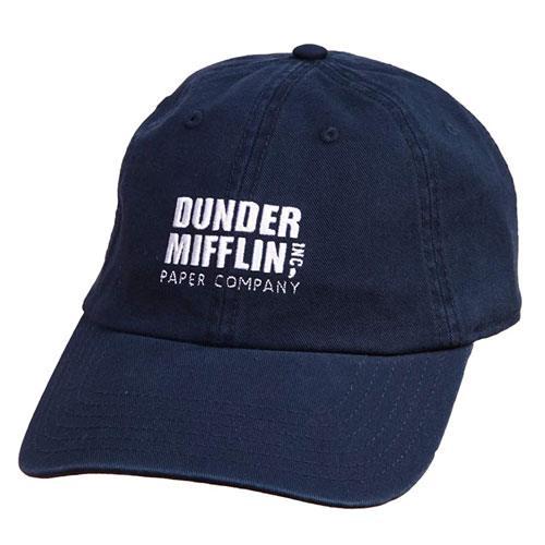 dunder mifflin logo cap