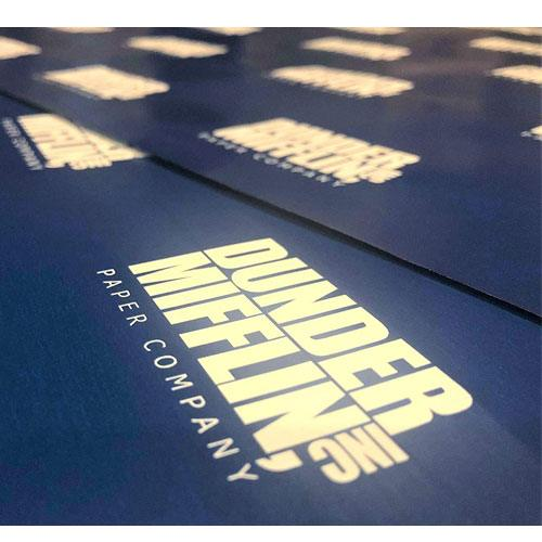 dunder mifflin wrapping paper
