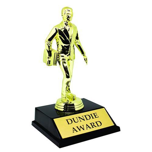 dundie award trophy statue